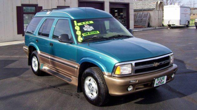 High Top Conversion: 1996 Chevrolet Blazer