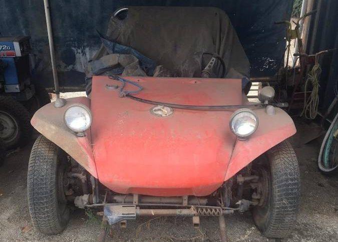 Genuine Manx Barn Find Vw Buggy