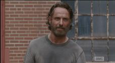...but Deputy Rick Grimes is a beautiful hero. No comparison, son.