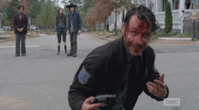 """Bloody Rick laughs at this. """"You mean me?"""""""