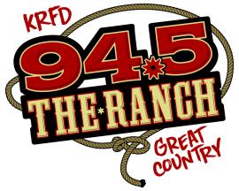 94.5 The Ranch KRFD logo large