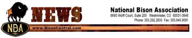 National Bison Association News Header