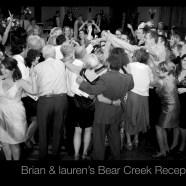 Lauren & Brian's Bear Creek Reception