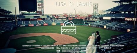 🔒 Lisa & Jamie – Citizens Bank Park Phillies Wedding Film