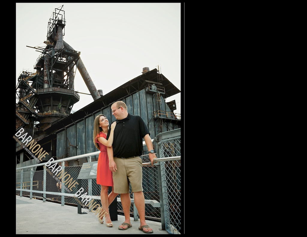 Steel Stacks Engagement - Bar None Photography 1596
