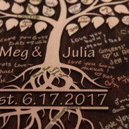 Meg and Julia's wedding photography at Monterre Vineyards