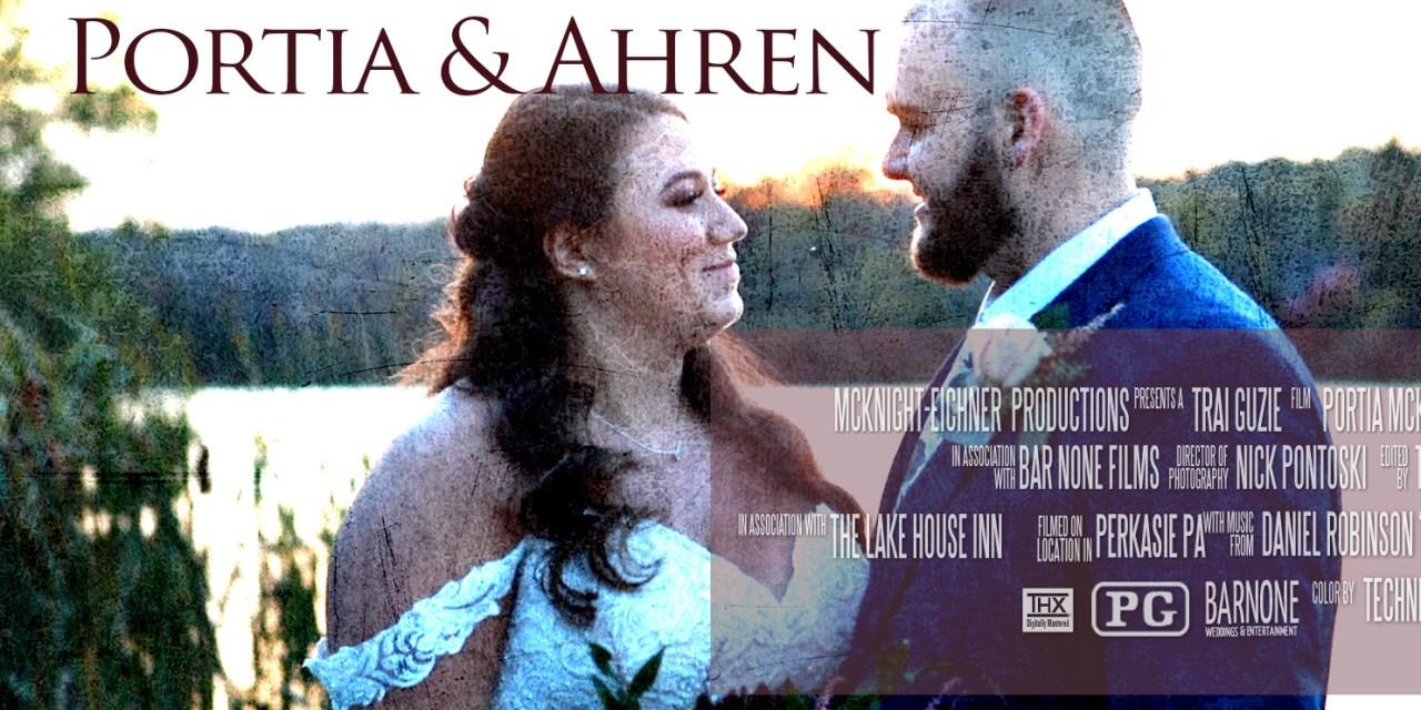 Portia & Ahren – The Lake House Inn – Perkasie Highlight Wedding Film