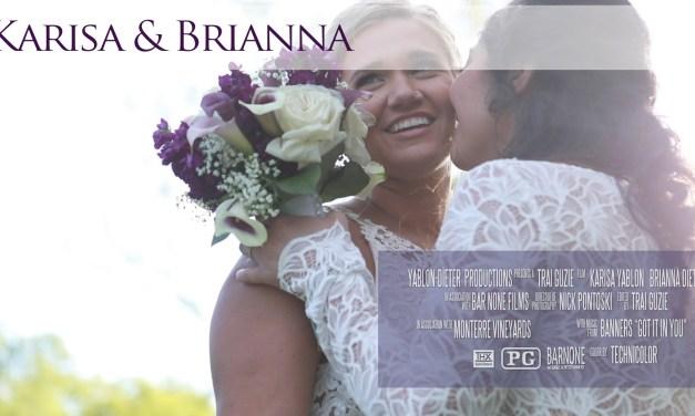 Karisa & Brianna – Monterre Vineyards – Same Day Edit – Wedding Film