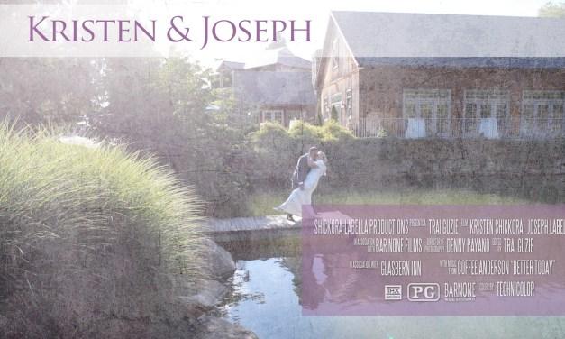 Kristen & Joseph – Glasbern Inn – Same Day Edit – Wedding Film – Lehigh Valley PA