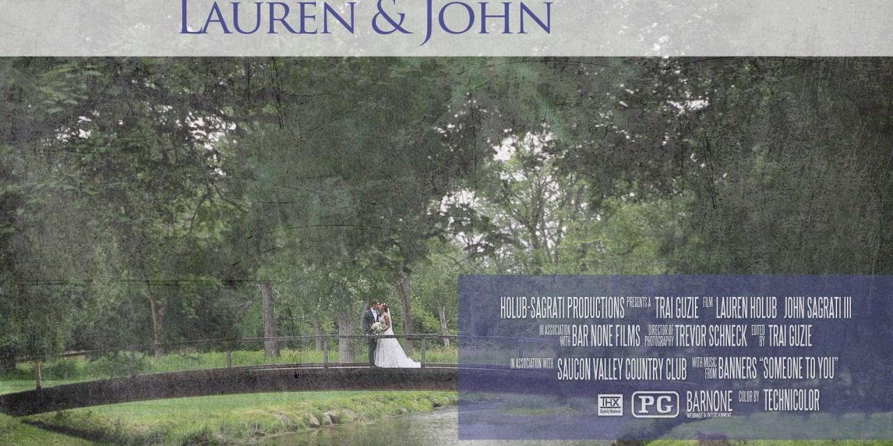 Lauren & John – Saucon Valley Country Club – Wedding Highlight Film – Bethlehem PA