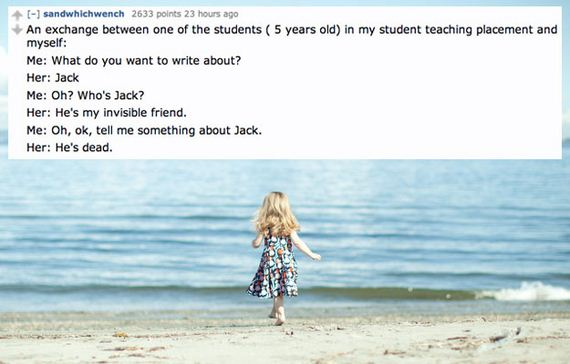 """Creepiest Things Kids Have Said About Their """"Imaginary"""