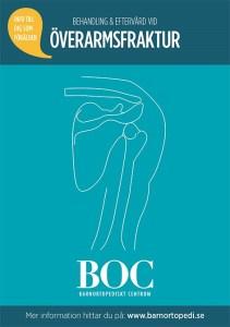 överarmsfraktur gips fraktur barnfraktur BOC barnortopedi barnortopediskt centrum