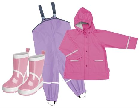 playshoes-regnjacka-regnbyxor-gummistovlar-rosa-paket