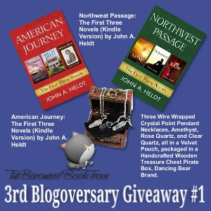 Giveaway #1 for 3rd Blogoversary