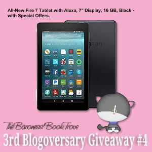 Giveaway #4 for 3rd Blogoversary
