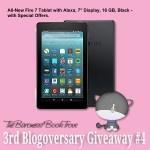 Blogoversary Giveaway 4