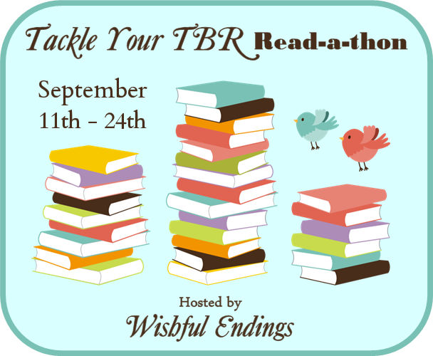 Tackle Your TBR Read-a-Thon Day 10 Update September 20, 2017