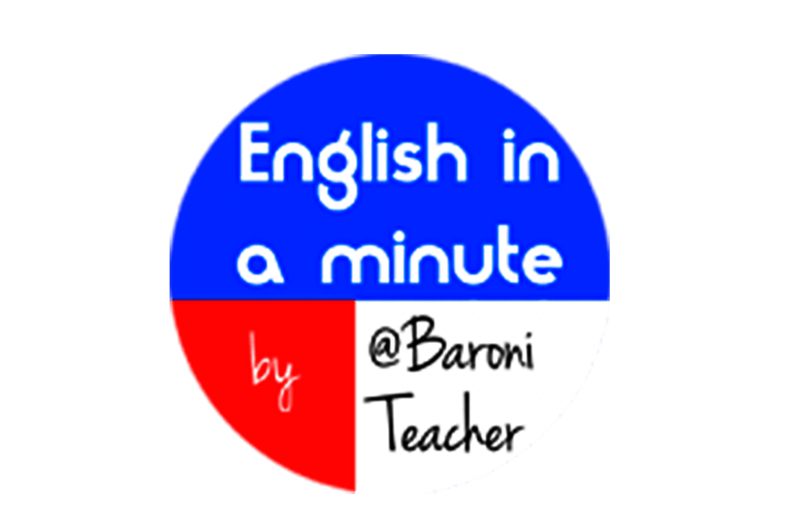 English in a minute by Baroni Teacher