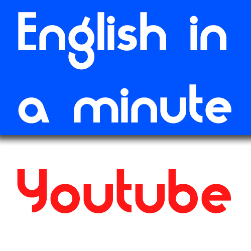 English in a minute Youtube