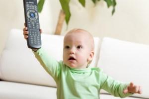 Improve speech language moderate TV watching