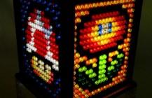 Mosaic Super Mario Bros. Lamp