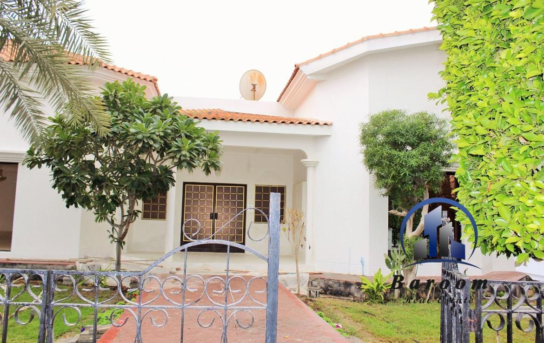 Single story Villa Hamala