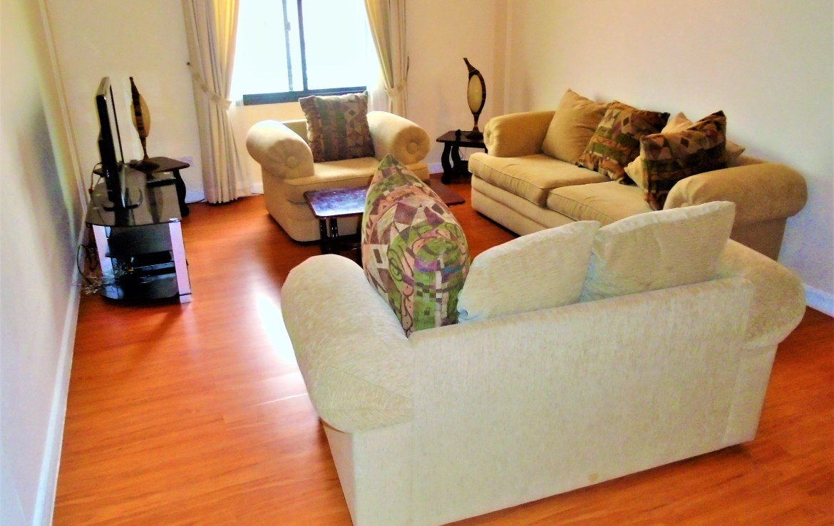 Two Bedroom Polished Apartment