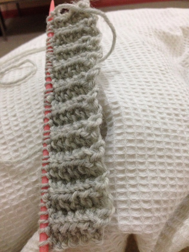Knitting - the beginning!