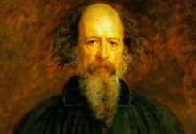 Lord Alfred Tennyson by Millais