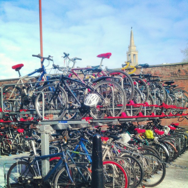 Bike view at Waterloo