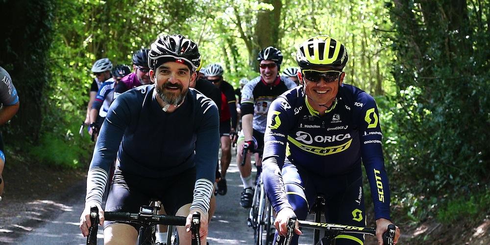 Papa G rider profile with Gerro