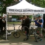 Exhanging Places - the ever popular free security marking service