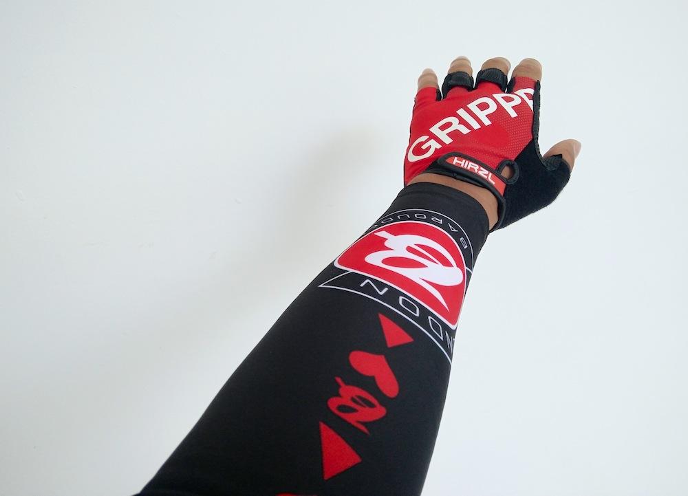 Hirzl Grippp Tour SF gloves - getting a grippp
