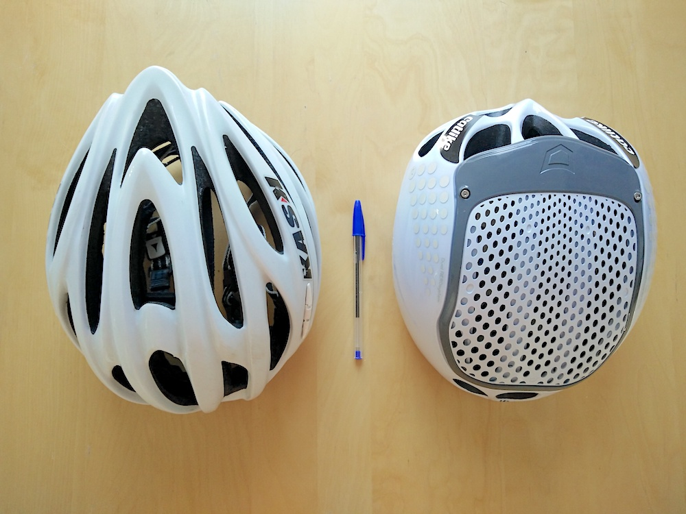 Catlike Cloud 352 helmet - Dieci and the 352 head to head.