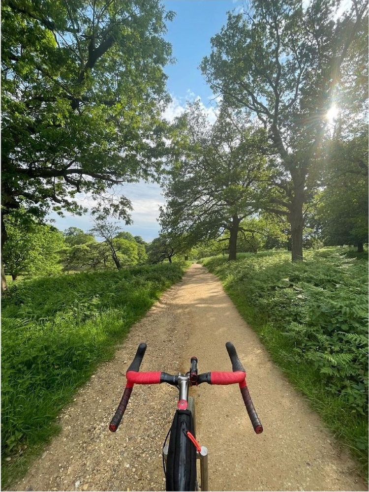 Gravel riding - simply point and ride