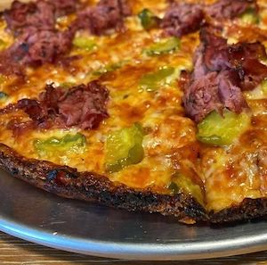 mike and lenny bar pizza pickle pastrami