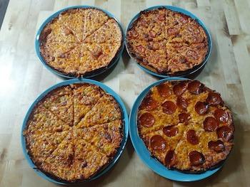 Todzilla's bar pizza