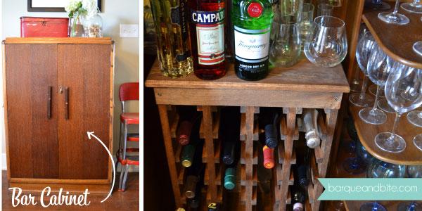 Hidden Bar Cabinet