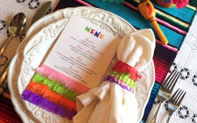 Fiesta Tissue Napkin Rings