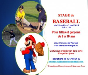 Stage baseball