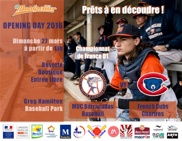 Opening day 27:03:16 - Barracudas vs Chartres