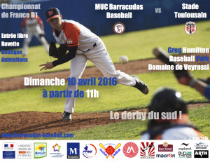 Barracudas vs Toulouse