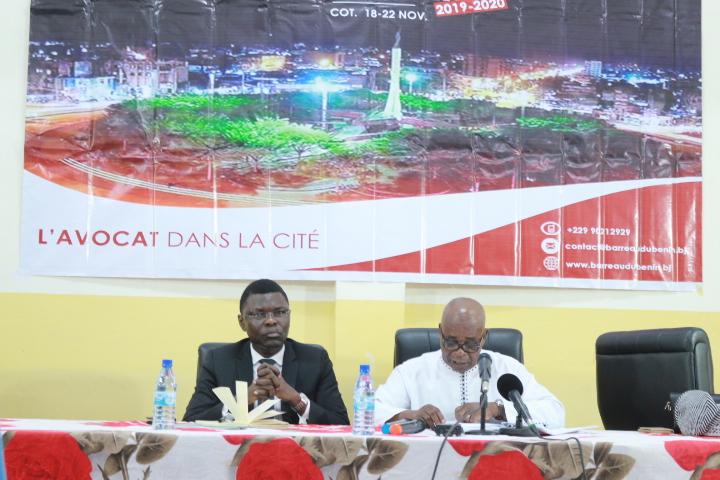 Rentrée Solennelle 2019-2020 du Barreau: Conférence Inaugurale