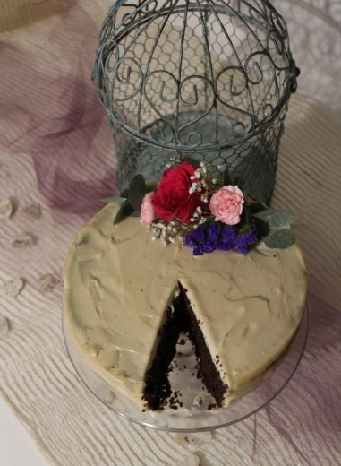 Clarity - Paleo Chocolate Wedding Cake
