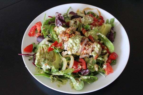 Whole30 Chicken Fajita Salad