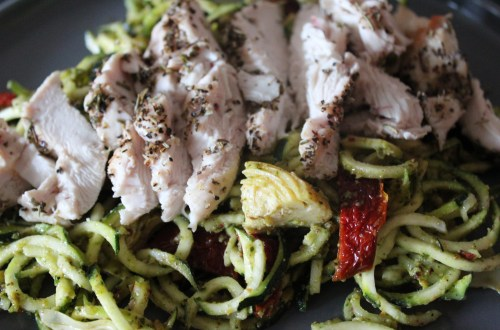 Consistent-Whole30 Chicken Pesto Pasta