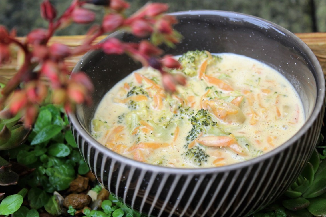 Happy Memories - Whole30 Broccoli Cheese Soup
