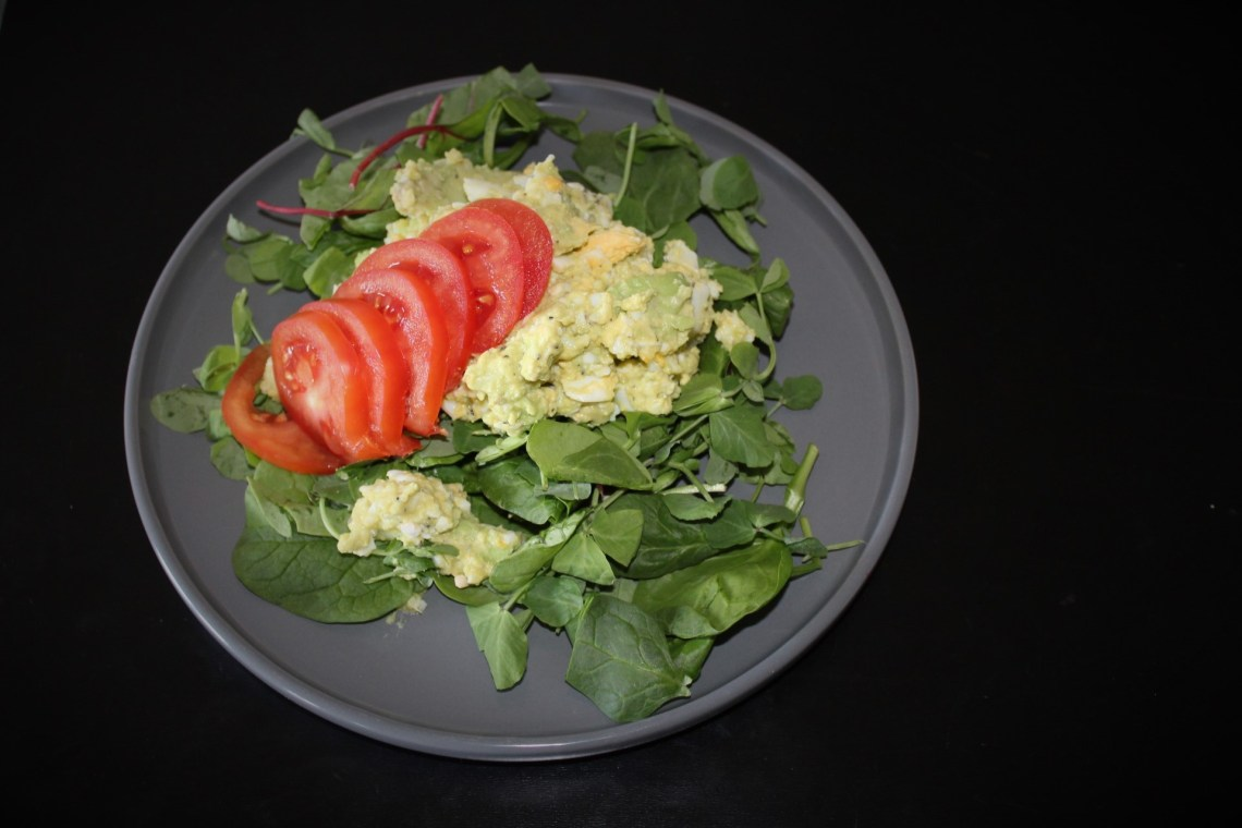Curiosity - Whole30 Avocado Egg Salad