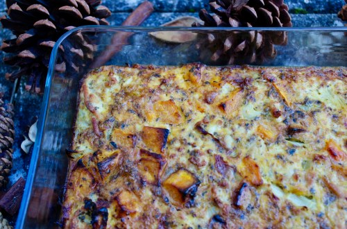 Foundational Habits - Sleep, Whole30 Butternut Squash and Sage Frittata