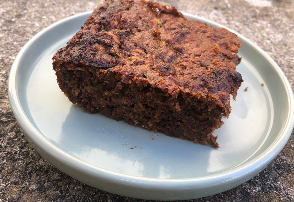 personality project - paleo zucchini brownies
